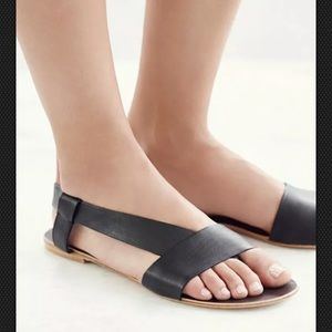 """Free People """"Under Wraps"""" Shoes - Strappy Sandals"""